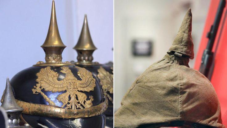 Sie gilt als Symbol für Untertanengeist und Militarismus. Aber die preußische Pickelhaube wurde 1842 nicht aus romantischen Gründen eingeführt, sondern weil sie hochmodernen Schutz bot.