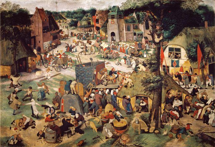 atelier de pieter brueghel le jeune kermesse avec th tre et procession vers 1637 collection. Black Bedroom Furniture Sets. Home Design Ideas