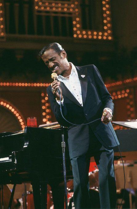 Sammy Davis, Jr.- Mr. Entertainer; Actor. Singer, Dancer and Musician.