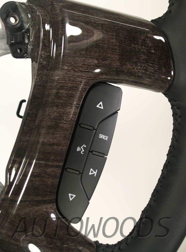 Wood Leather Oem Steering Wheel For 2007 2008 2009