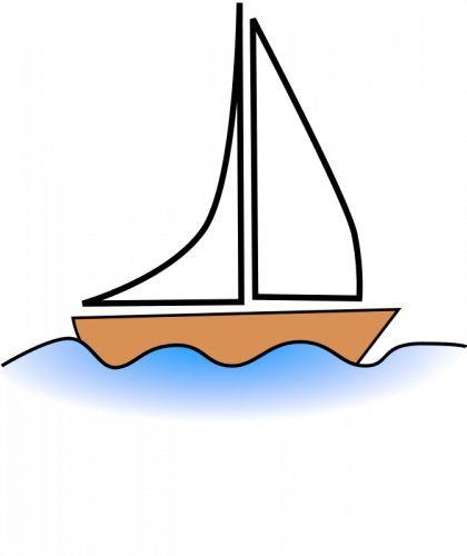 Afbeeldingsresultaat voor SIMPEL ZEILBOOTJE tekenen