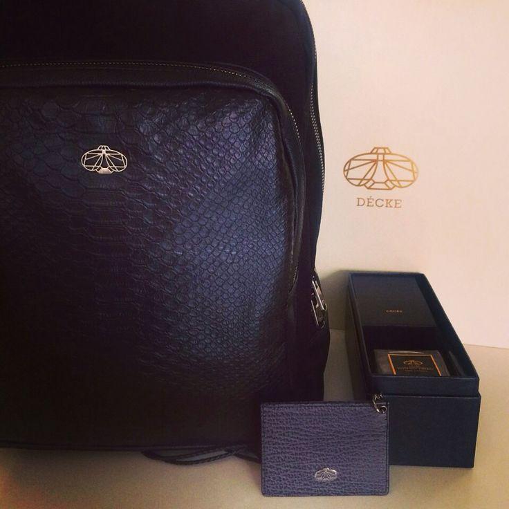 #decke #duo backpack#diffusor#card holder
