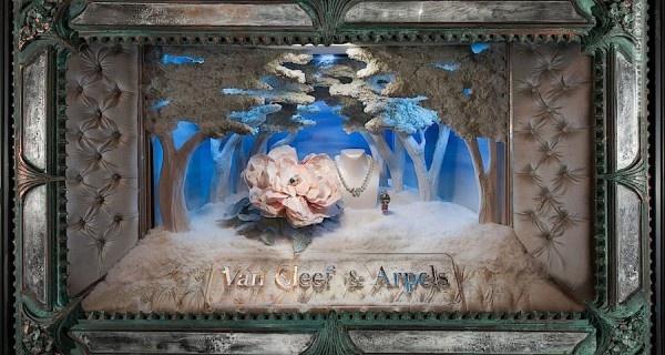 Кинетические ювелирные витрины (Van Cleef & Arpels)