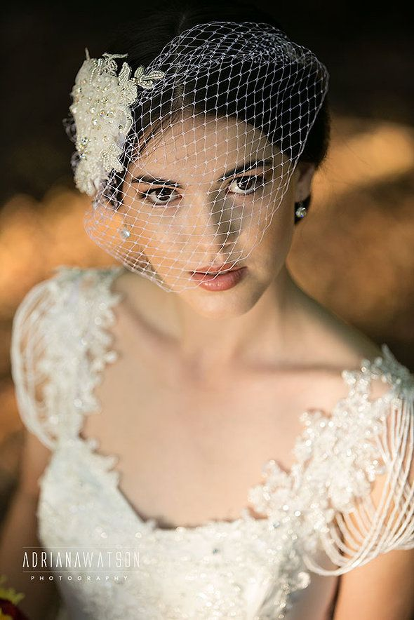 Bridal Makeup by Photo Finish Makeup.  Gown by Aleksandrovna Bridal Collection http://www.itsmywedding.com.au/vendor-profile/photo-finish-makeup/