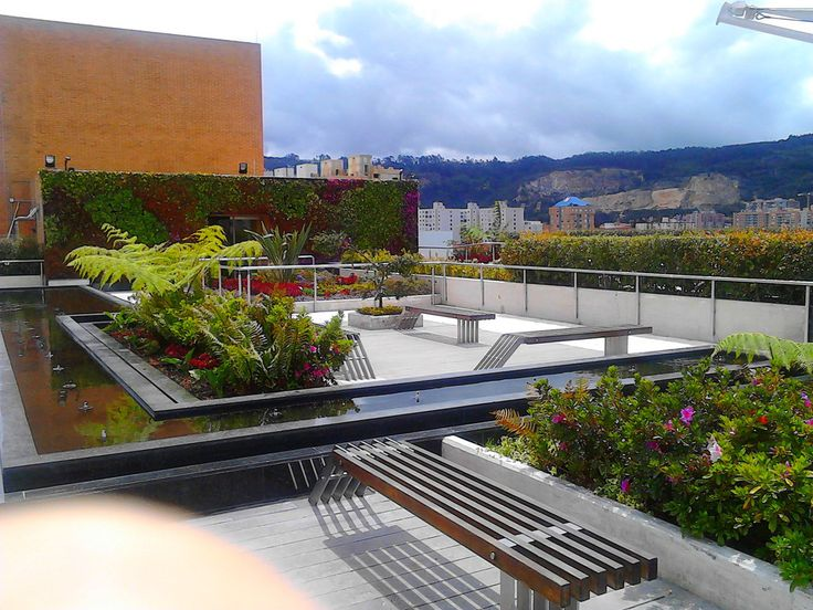This somewhat hidden coffee shop in Bogotá offers great products, beautiful views and helps heal you.