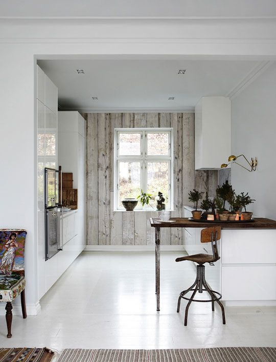 Fill in the Design _____: Danish Kitchen Wallpaper Reveal | Apartment Therapy