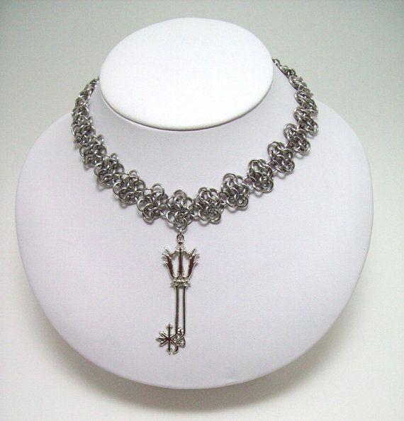 www.etsy.com/shop/eternalelfcreations  Kingdom Hearts video game jewelry by Eternalelfcreations on Etsy, $30.00