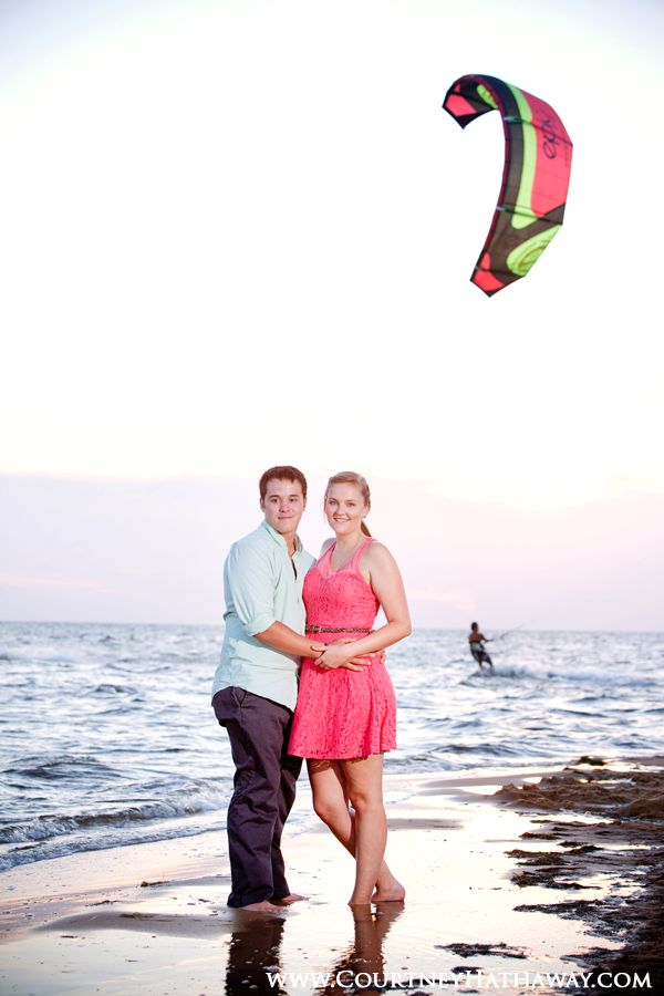 Outer Banks Engagement Photos Wedding BeachBeach WeddingsDestination