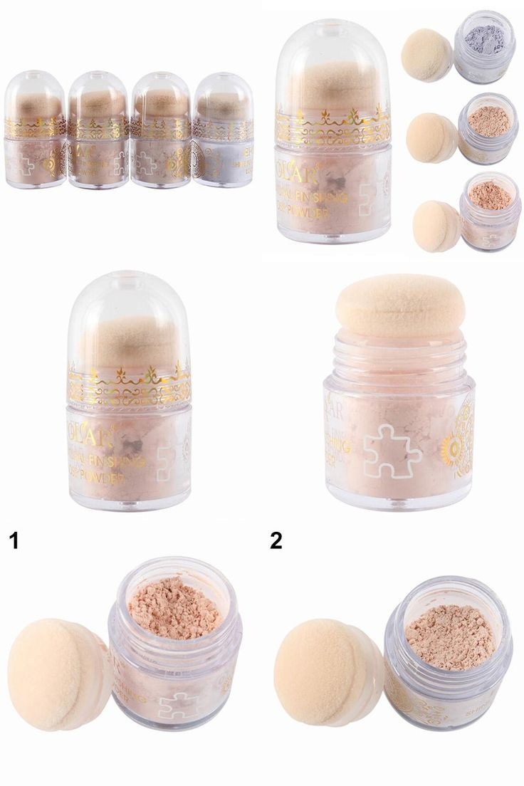 [Visit to Buy] Hot item!Bare Makeup Repair Loose Powder Natural Cover Pure Minerals Foundation Concealer #Advertisement