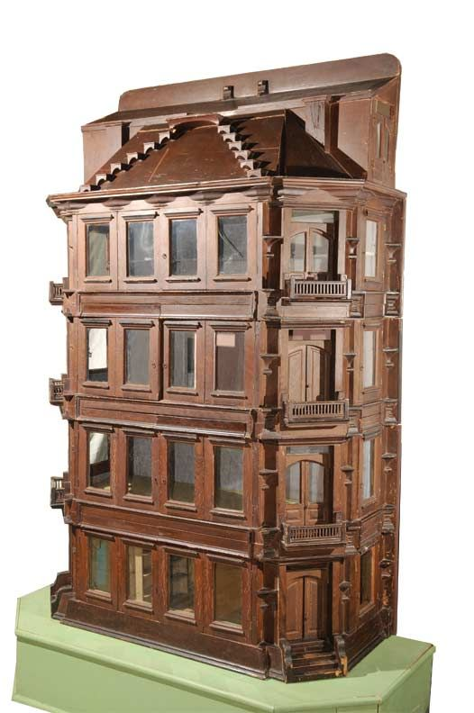 reflections in 19th century dolls house A dollhouse or doll's house is a toy home made in miniature although a number of manufacturers made lines of miniature toy furniture in the 19th century.