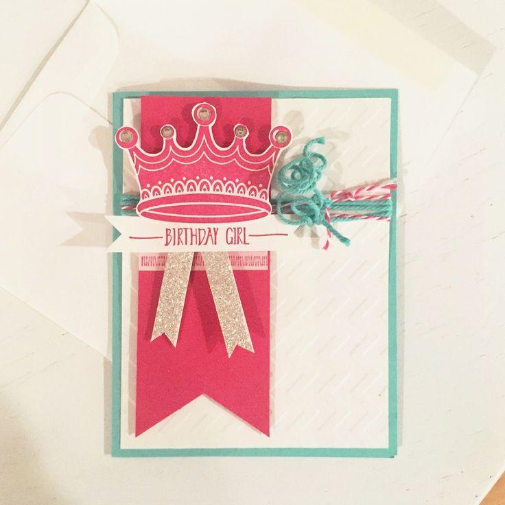 princess birthday card  princess card birthday cards