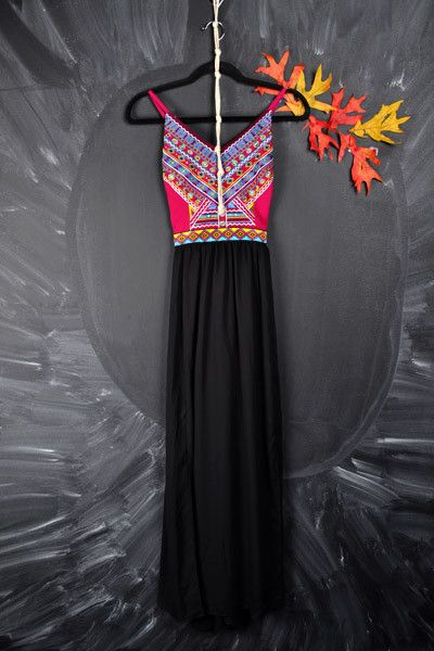 Tribal Maxi Dress | Gypsy Outfitters - Boho Luxe Boutique