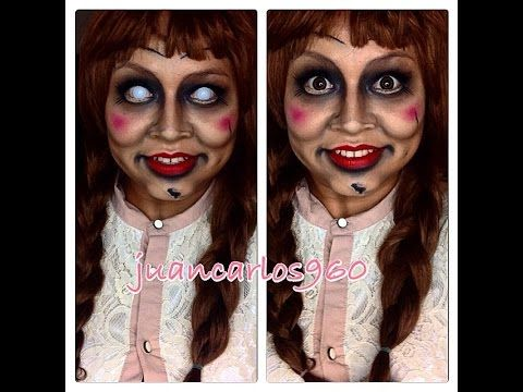 Tutorial de maquillaje Halloween: Annabelle - Juancarlos960