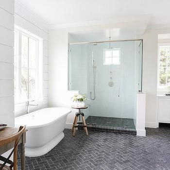 herringbone bathroom floor best 25 gray shower tile ideas on grey tile 13106