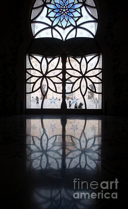 Abu Dhabi Sheikh Zayed Mosque Photograph