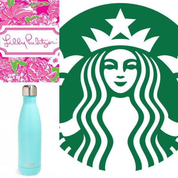 For the Love of Lilly. Lilly Pulitzer, Starbucks and S'well Collaborated to Make a Water Bottle.