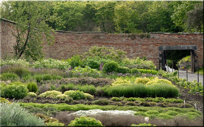 Herb Beds at Lissadell House