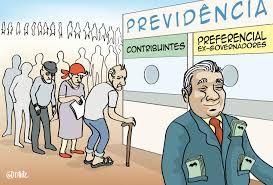 Resultado de imagem para charges  reforma previdencia