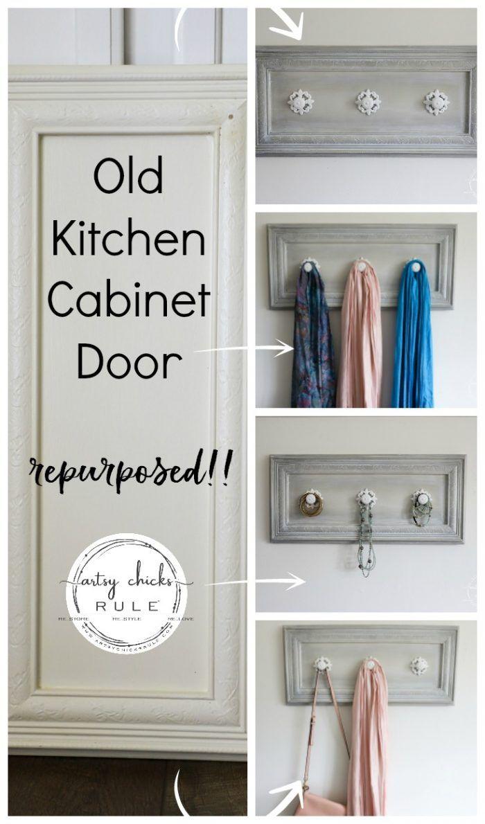 Cabinet Door Repurposed Coat Rack Artsy Chicks Rule Cabinet Doors Repurposed Doors Repurposed Refurbished Cabinets