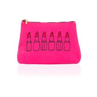 Lipstick make-up pouch