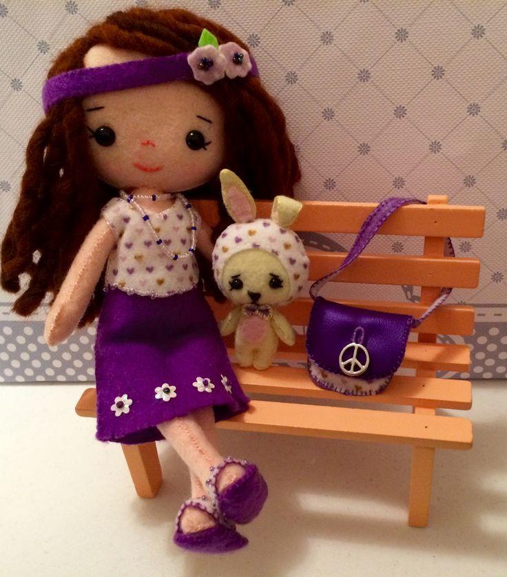 Gigi - Pocket Poppets - Pattern Gingermelon