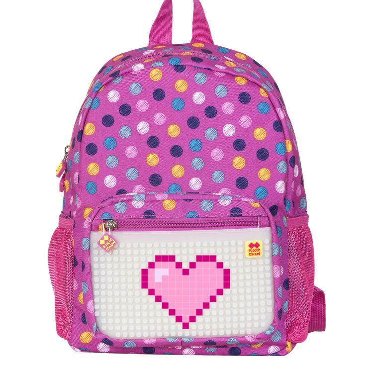 PIXIE CREW Kid´s Backpack BUBBLEGUMS/GLOW IN THE DARK - Kid´s Backpacks - Backpacks  | Pixie Crew