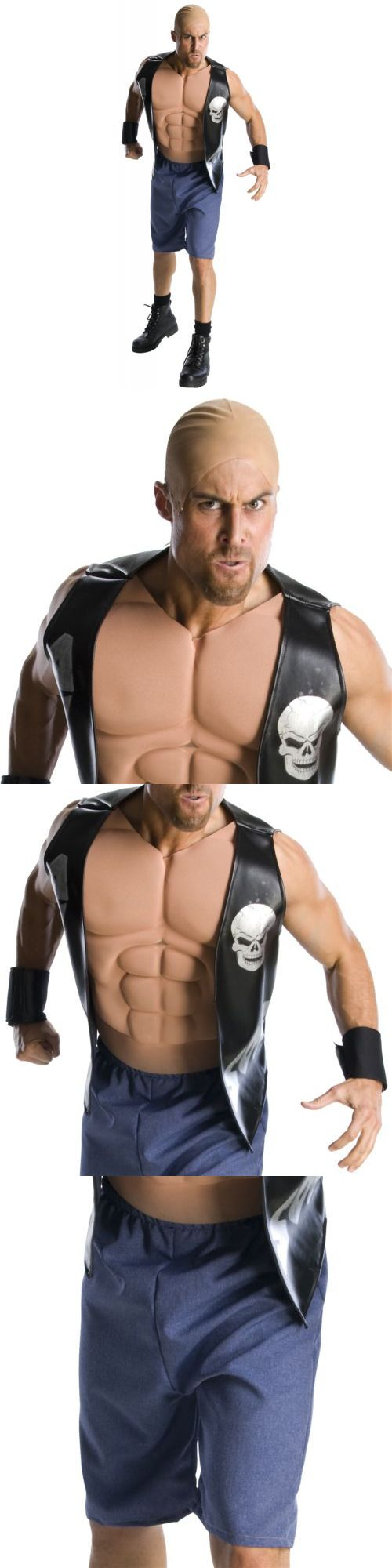 Men 52762: Stone Cold Steve Austin Costume Wwe Halloween Fancy Dress -> BUY IT NOW ONLY: $47.79 on eBay!
