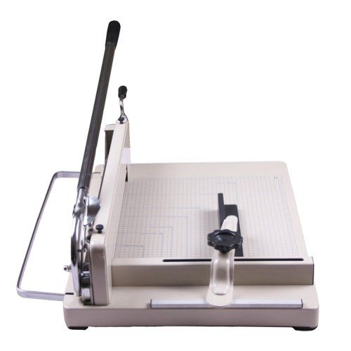 """Amzdeal A3 Paper Cutter 17"""" Trimmer Machine Easily Cut 80g Paper 400 Sheets High or Approx 1.5"""" Hardened Steel Blade Industrial Precise and Thick High Quality"""