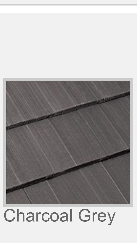 ROOF - Boral Striata (Charcoal) Tiles