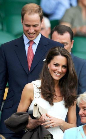 Kate Middleton Duchess of Cambridge at Wimbledon.
