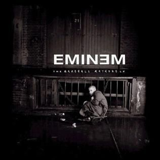 I could probably list every single Eminem album cover here, but that would take too much room. This man is probably the best rapper alive, in my opinion. His music, especially with his incredible flow and storytelling, is absolutely amazing.