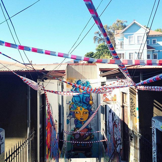 Valparaíso's murals are legendary  http://www.afar.com/magazine/an-instagram-tour-of-chile-in-16-amazing-photos