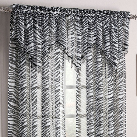32 best images about wild about zebras on pinterest for Animal print window treatments