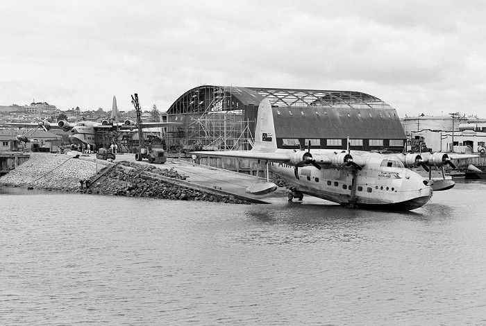 Short Empire Flying Boats of Qantas Air Services