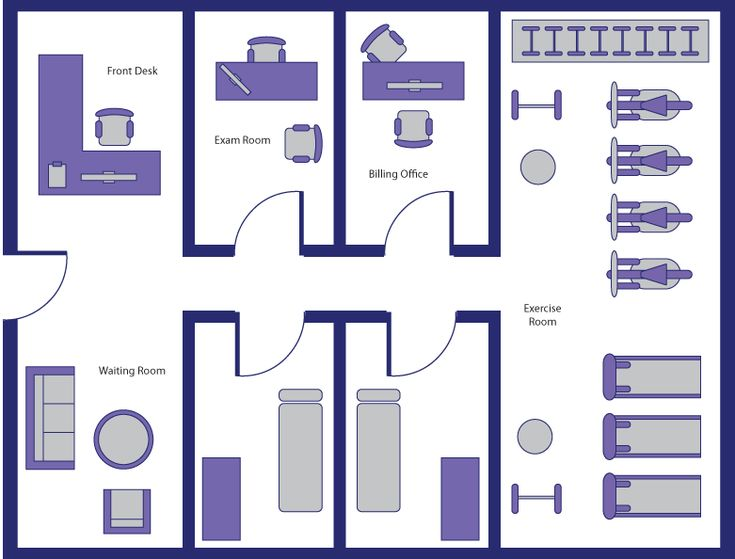 Physical therapy room layout google search clinic for Design a room online free with measurements