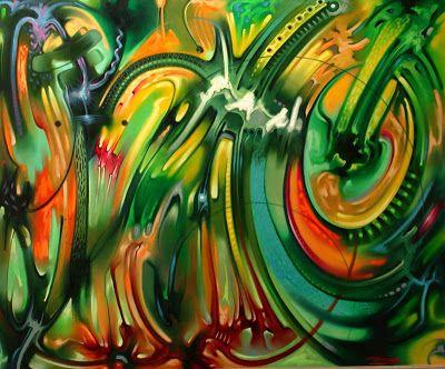 pinturas-abstractas-modernas. Pedro Cabrera