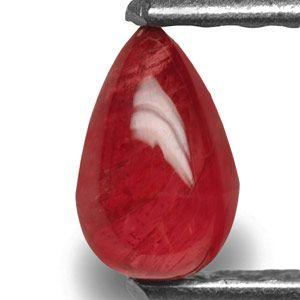 0.94-Carat Briolette-Cut Unheated Ruby from Quy Chau Mines