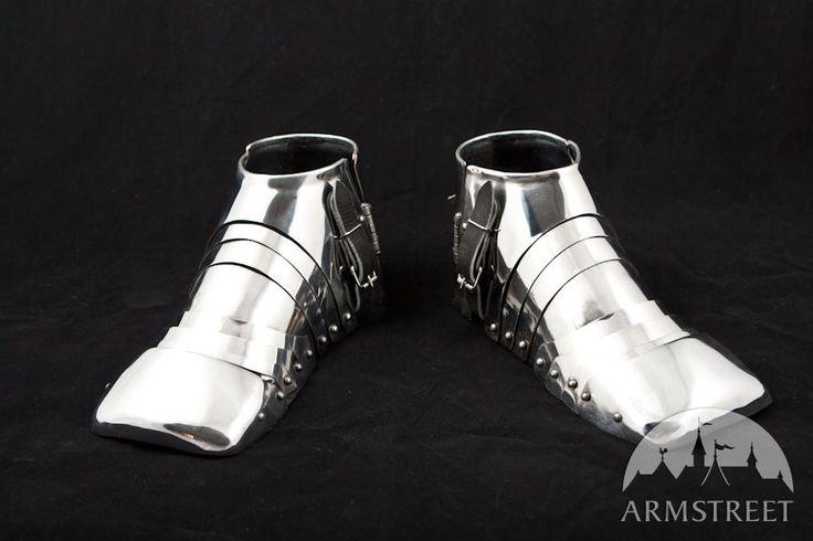 Medieval Combat Functional Armor Sabatons
