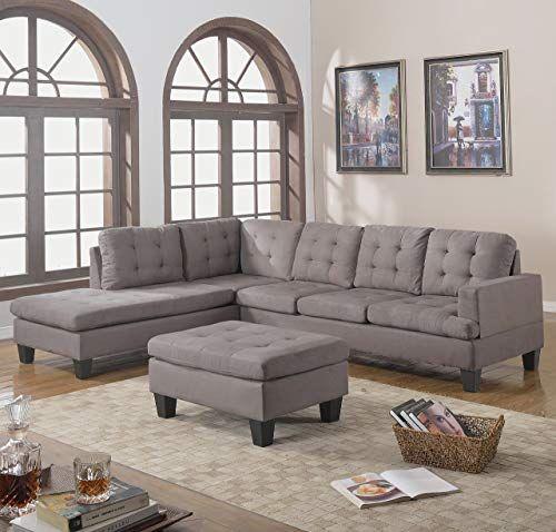 Awe Inspiring Enjoy Exclusive For Divano Roma Furniture 3 Piece Reversible Ncnpc Chair Design For Home Ncnpcorg