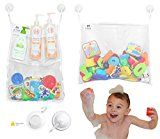 Early Bird Special: 3 Kids - Premium 2 Large Bathtub Toy Organizer Set With 6 Strong Suction Cup Hooks  List Price: $14.99  Deal Price: $9.99  You Save: $5.00 (33%)  3 Kids - Premium 2 Large Bathtub Toy Organizer Set With 6 Strong Suction Cup Hooks  Expires Mar 3 2018