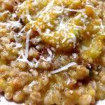 farrotto farro zucca gialla zucchine patate bimbi bambini svezzamento monsier cuisine moncu moulinex cuisine companion ricette cuco bimby