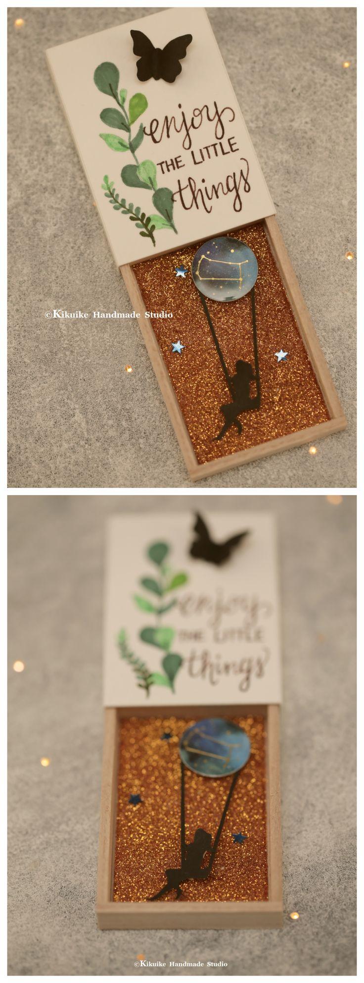 Hand cut shadow art,Matchbox card,handmade shadow box,Gift Box,miniatures,cheer up box,Valentine's Gift,Gift for her/him,Girlfriend gift, holiday card, matchbox art and matchbox message card ideas