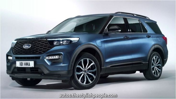 20ford Explorer Phev Revealed In Europe With 4hp 2020 Ford Explorer Ford Explorer New Suv