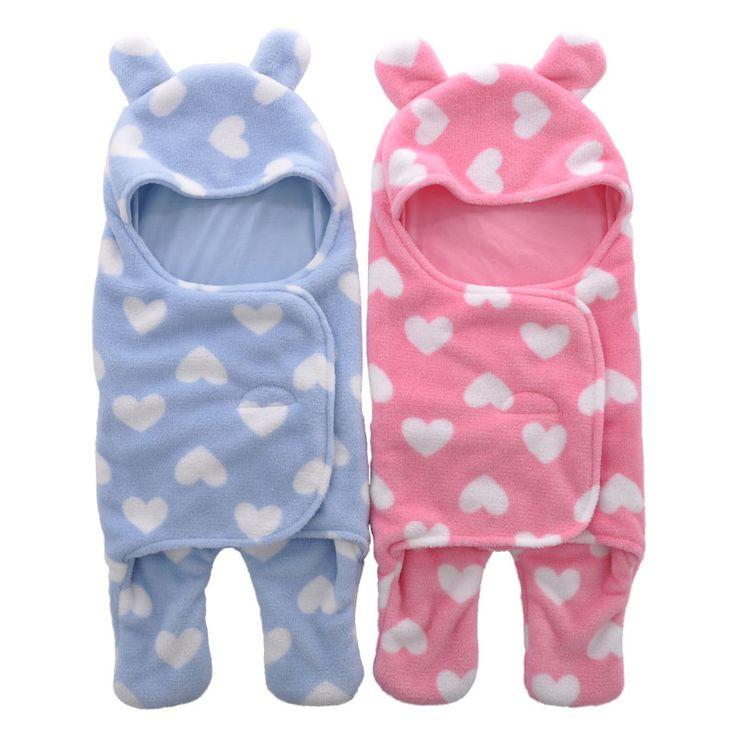 Sleeping Bag Sleepsack Baby Fleece For Stroller Ultra Light Cartoon Stroller Baby Blankets Baby Footed Sleeping Bag