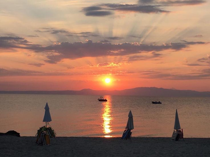 An amazing sunset in Possidi!