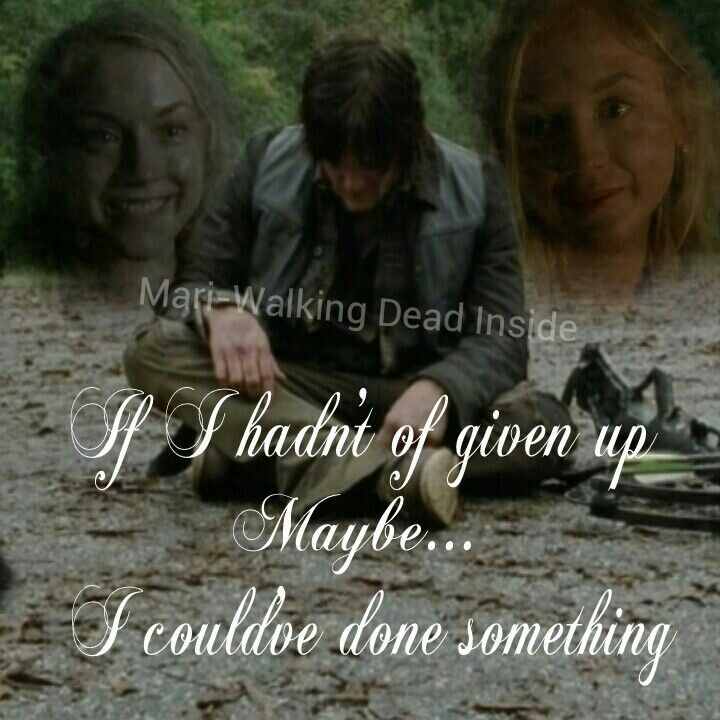 does daryl and beth hook up in the walking dead