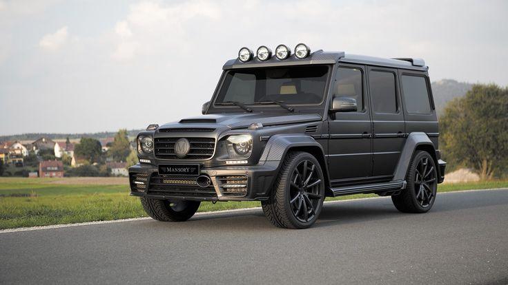 Mercedes Gelandewagen Mansory