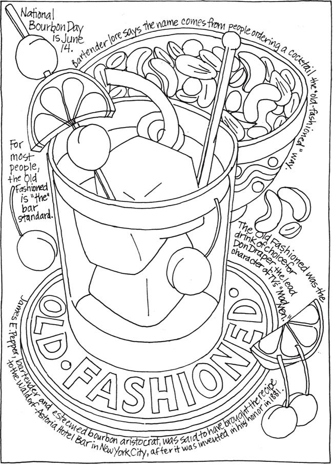 Creative Haven Happy Hour A Wine Beer And Cocktails Coloring Book Doverpublications Pattern Coloring Pages Coloring Books Food Coloring Pages