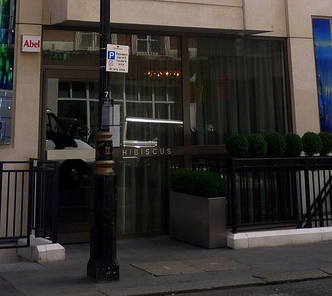 Hibiscus restaurant. Chef Claude Bosi.