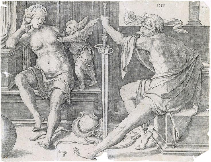 Mars, Venus and Cupid (1530)
